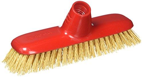 Vileda Extra Strong, balai brosse à récurer, poils dures, nettoyage extérieur intensif 24 x 7,5 x 10 cm