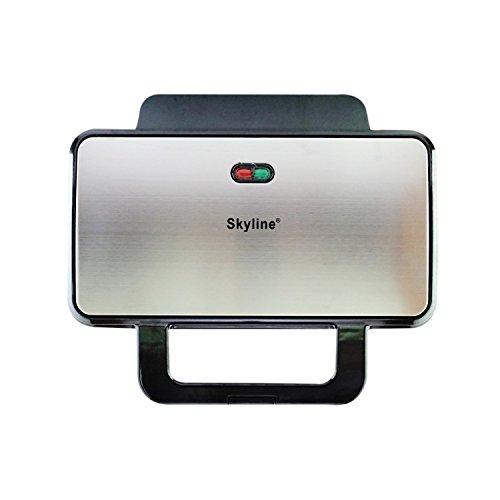 Skyline VTL-5099 1000-Watt Waffle Maker (Silver/Black)