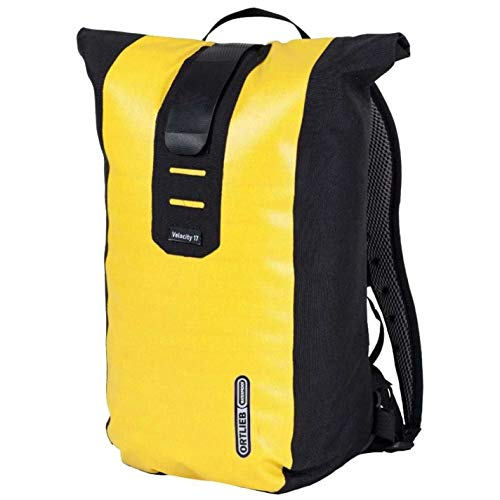 Ortlieb Unisex Velocity Backpack 17 Litre Back Pack Waterproof Zip Outdoor Sport Black/Yellow One Size