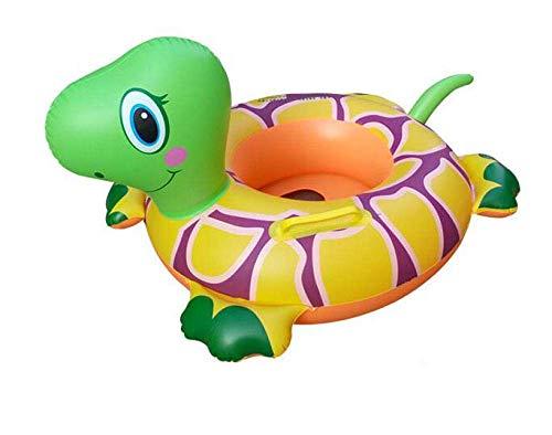 YUHT Schwimmring Baby dicken aufblasbaren Flamingo Sitzring Unterarme Schwimmschwimmer Jungen Mädchen Schwimmbad Strand Spielen Spielzeug, Tiger Aufblasbarer Schwimmring