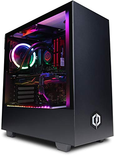 Photo of CyberpowerPC Warrior Gaming PC – Intel Core i7-9700F, Nvidia RTX 2060 Super 8GB, 16GB RAM, 240GB SSD, 2TB HDD, 550W 80+ PSU, Wifi, Windows 10, Liquid Cooling, H511 Black