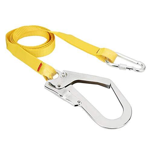 Sicherheitsgurt für Arbeiten im Freien, Bergsteigen Kletterdach Dachdecker Sicherheitsgurt Schutz Hochfester Gurt Lany Locking Buckle