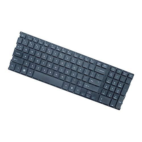 H HILABEE Englisch Ersatz Tastatur Notebook Keyboard Ersatztast für HP Probook 4510 4510S 4515S 4710 4710S 4750S Laptop, Schwarz