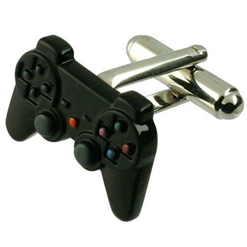 Select Gifts Manschettenknöpfe Manschettenknöpfe Playstation PS3~ Game Controller graviert Personalisierte Box