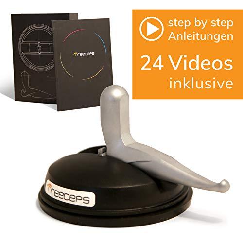 Freeceps® Selbstständige Triggerpunkt- und Triggerband-Behandlung mit echter Tiefenwirkung inkl. 24 Trainingsvideos I Mehr als Faszienrolle, Drücker oder Massagehaken