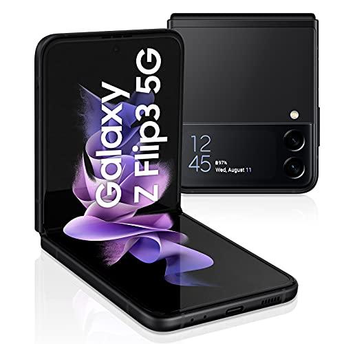 Samsung Samsung Galaxy Z Flip3 5G Smartphone, SIM-frei, zusammenklappbar, 128 GB, Schwarz