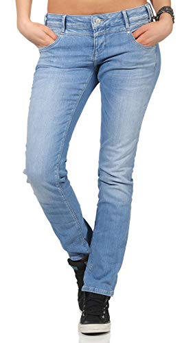 M.O.D Miracle of Denim Damen Jeans REA Regular FIT SP19-2012 Cairo Blue, Hosengröße:25/30