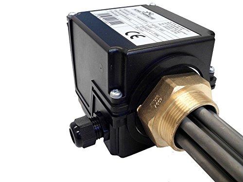 Heizpatrone isoliert 6,0 kW für Pufferspeicher mit Thermostat