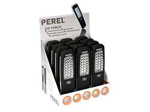 12 x Taschenlampen 24 weißen LED's Soft Grip