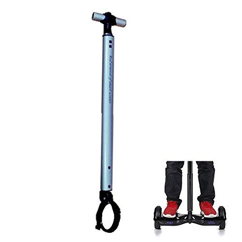 Locisne Barra de manija de la manija del equilibrio aleación de aluminio del tirón,ayuda vespa maniobra,sostenedor eléctrico del Hoverboard los principiantes Para rodillo diámetro los 7cm