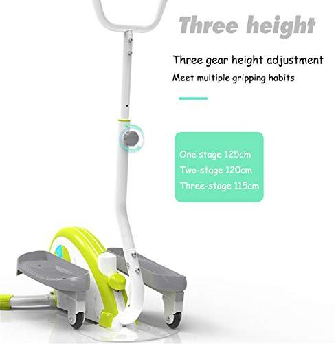 QHGao Mini-Übungs-Cross-Trainer, Kompakter Elliptischer Schrittmotor, Maschinelles Elliptisches Joggen Für Übungen Im Büro Und Zu Hause, Gesundheit Am Arbeitsplatz, Pedaltrainer