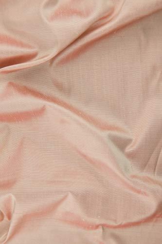 "Chintz Rose Silk Shantung 54"" Fabric"