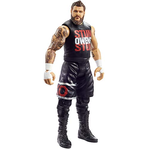 WWE MATTEL Kevin Owens Action Figure, Posable 6-in/15.24-cm Collectible for Ages 6 Years Old & Up