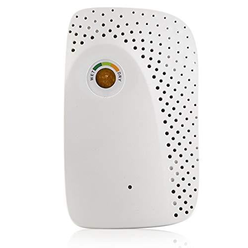 CBA BING elektronische luchtontvochtiger, draagbare mini-luchtontvochtiger, elektrische luchtontvochtiger voor de kelder, thuis, garage, badkamer, draagbare luchtontvochtiger