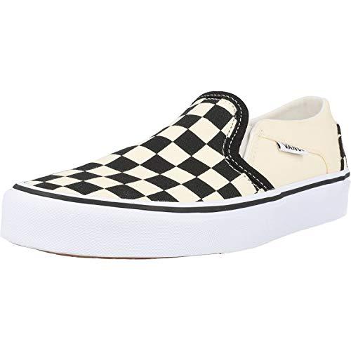 Vans Asher, Women's Low-Top Sneakers, White (Checkerboard/Black/White), 6 UK (39 EU)