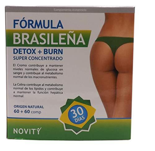 Formula effetto detox brasiliano che purifica il corpo e brucia grassi naturali termogenici potenti per perdere peso, soppressore dell\'appetito bruciagrassi, dimagrimento con guaranà. Effetto veloce