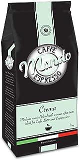 Caffe' Mondo 1kg Coffee Beans - Crema