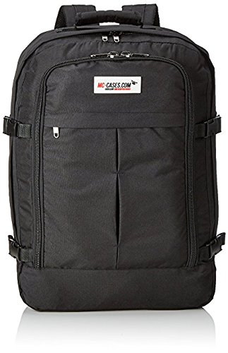 Professional backpack fits for Parrot Bebop 2 and Bebop 2 Power with Sky Controller 2 and goggles made by MC-CASES - Excellent Cases - THE ORIGINAL (Parrot Bebop 2 FPV, colour black)