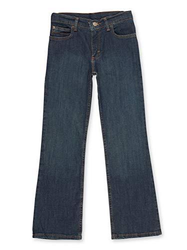 Wrangler Boys' Boot Cut Jean, Fresh Indigo, 14