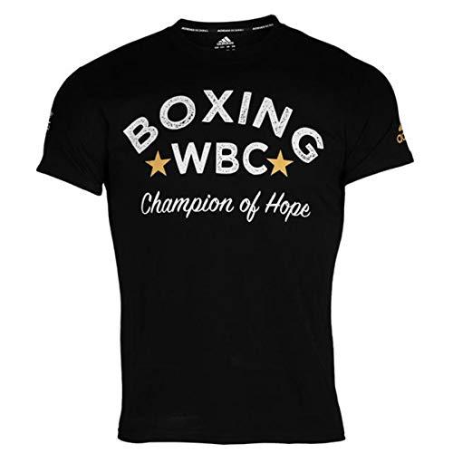 adidas WBC T-Shirt Boxing - Black, Größe:M