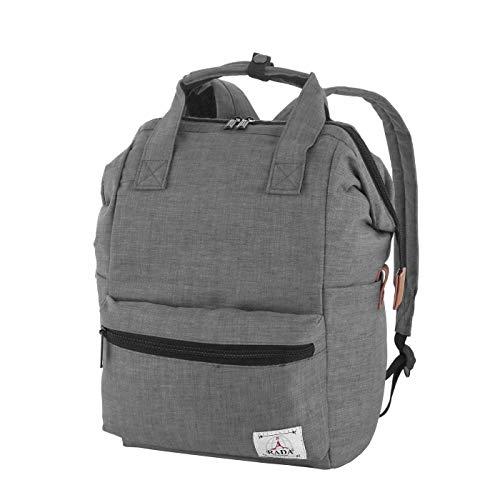 Rada Rucksack Basic Plus Freizeitrucksack für Herren und Damen, Leichter Daypack für Jungen und Mädchen, geeignet für Arbeit und Sport, wasserabweisendes Polyester (Anthracite)
