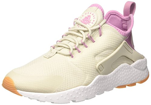 Nike Damen Air Huarache Run Ultra Laufschuhe, Beige (Light Bone/Orchid/Gum Yellow/White), 39 EU