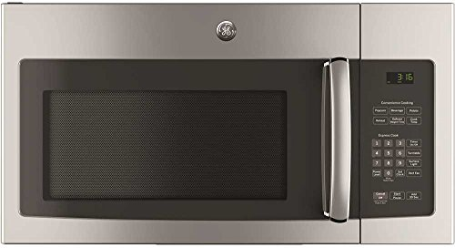 """GE JNM3163RJSS 30"""" Over-the-Range Microwave with 1.6 cu. ft. Capacity, in Stainless Steel"""