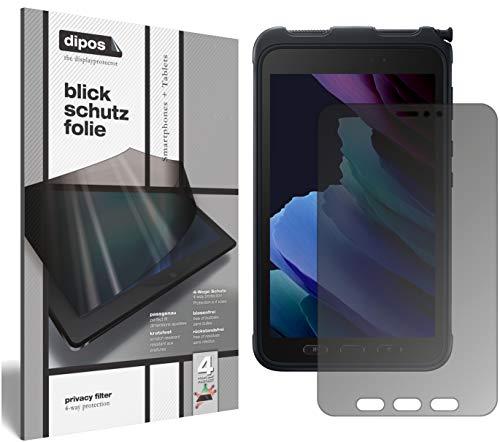 dipos I Protección de la Vista Compatible con Samsung Galaxy Tab Active 3 Protector de Pantalla Privacy