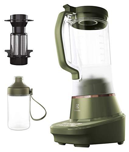 Electrolux E7TB1-6FGM Explore 7 con vaso batidora, 900 W, 1,5 litros, acero, 3 velocidades, verde salvia