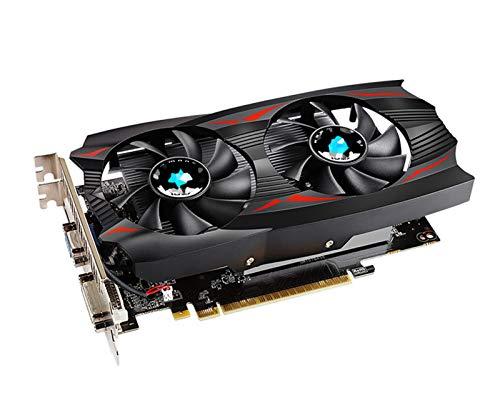 XIKONG Tarjeta de gráficos, GTX 750TI 2G DDR5 128BIT Tarjetas de Video de Alto Rendimiento Juego de computadora con Ventilador de enfriamiento Memoria de bajo Ruido Juegos