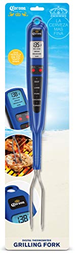 Corona Digital Meat Thermometer Instant Read That's Easy to Use - Meat Thermometer Fork Fast and Accurate - Meat Thermometer for Grilling Your Favorite Meat