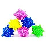 Trocknerbälle 5 Farben 12 Stücke