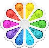 HENG BANG Juguete educativo para niños, alivio del estrés, antiansiedad, juguete sensorial, para niños, hombres y mujeres