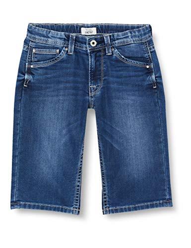 Pepe Jeans Jungen Cashed Short Badeshorts, Blau (000denim 000), 8-9 Jahre (Herstellergröße: 8)