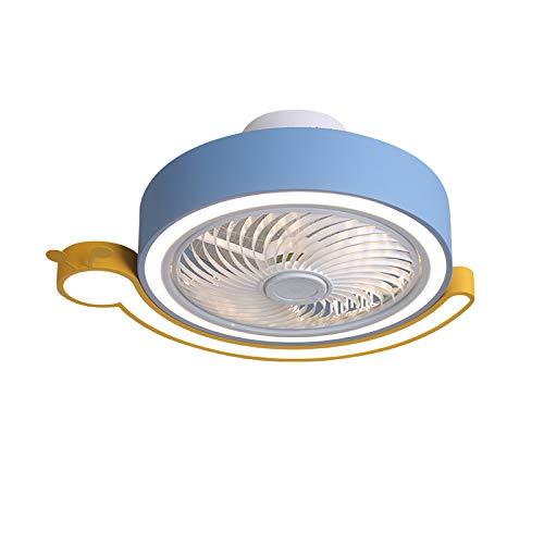 TGRBOP Luz De Techo Modernos Dimmables Con Ventiladores Para La Sala De Estar Velocidad De Viento Ajustable Control Remoto Ventiladores Minimalistas Luces De Techo Ventilador De Techo Tranquilo Con Lu