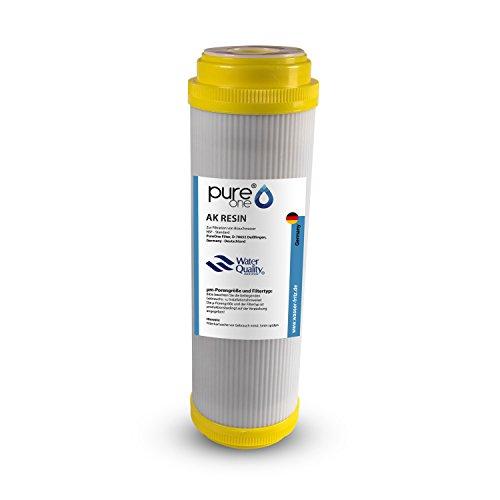 PureOne AK Resin Anti-Kalk. 100{29256c21c96d0955c70ef424f62b1694486a1def7b0eb93aa7239df89acc49e4} Resin Granulat. Die Kalkfilter Wasserenthärtungs-Kartusche für 10 Zoll Wasserfilter Gehäuse