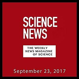 『Science News, September 23, 2017』のカバーアート