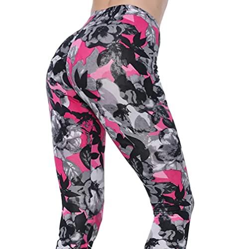 RNG EKO GREEN Sexcer High Waist Seam Print Legging Push Up Fitness/Gym/Yoga/Sports Pants for Women