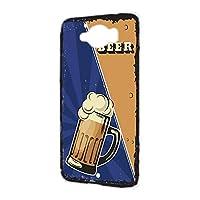 ハードケース スマホケース AQUOS SERIE SHV32 用 BEER ビール・ブルー ビンテージ アメリカン レトロ USA SHARP シャープ アクオス セリエ au スマホカバー けーたいケース けいたいカバー beer_00x_h191@02