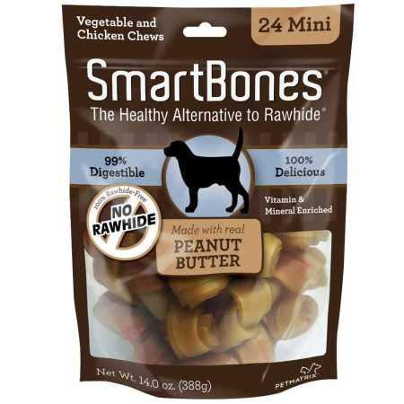 SmartBones Mini Peanut Butter Chews