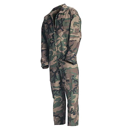 Rothco Flightsuits, Woodland Camo, M