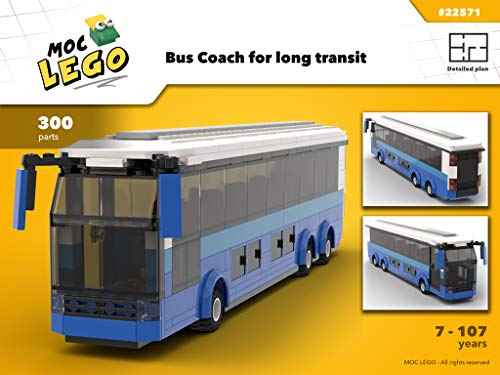 Coach Bus (Instruction Only): MOC LEGO (English Edition)