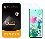 (3 Pack) Supershieldz for LG K92 5G Tempered Glass Screen Protector, Anti Scratch, Bubble Free