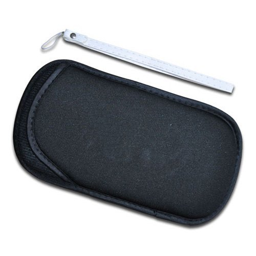 OSTENT Protective Soft Travel Carry Cover Case Bag Pouch Sleeve Compatible for Sony PS Vita PSV