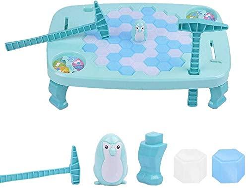 Ritapreaty Puzzle Juegos de Mesa Ice Cubes Penguin Ice Penguin Penguin Save Penguin Knock Ice Juguetes para Juegos interactivos de Escritorio 12 40 x 8 50 x 2 95 Pulgadas