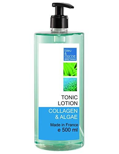 bleumarine Bretania Tónico Piel Sensible Loción Limpiadora Suave con Colágeno y Algas - 500 ml