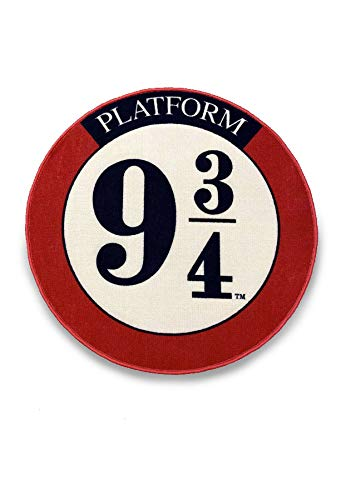 Groovy Uk Platform 9 y 3/4 - Alfombra Antideslizante para Puerta (100 x 100 cm), Color Burdeos