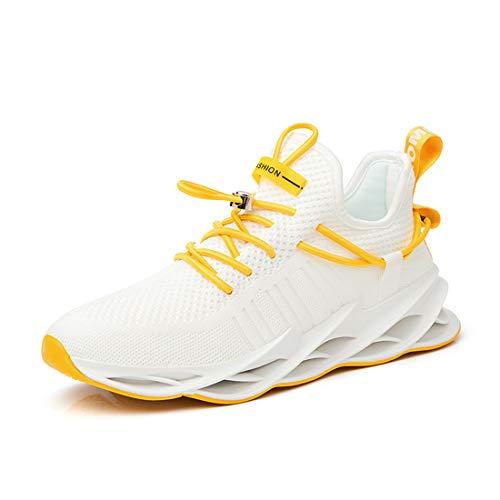 Damyuan Zapatos Deportivos de Malla Tejida con Mosca Zapatos