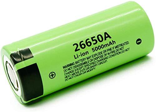 3.7v 5000mah batería 26650A baterías Recargables de Iones de Litio para Linterna LED-1 PC