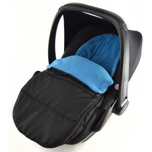 Kindersitz-Fußsack für Babyschale, kompatibel mit Egg Kiddy Babyschale, Ozeanblau